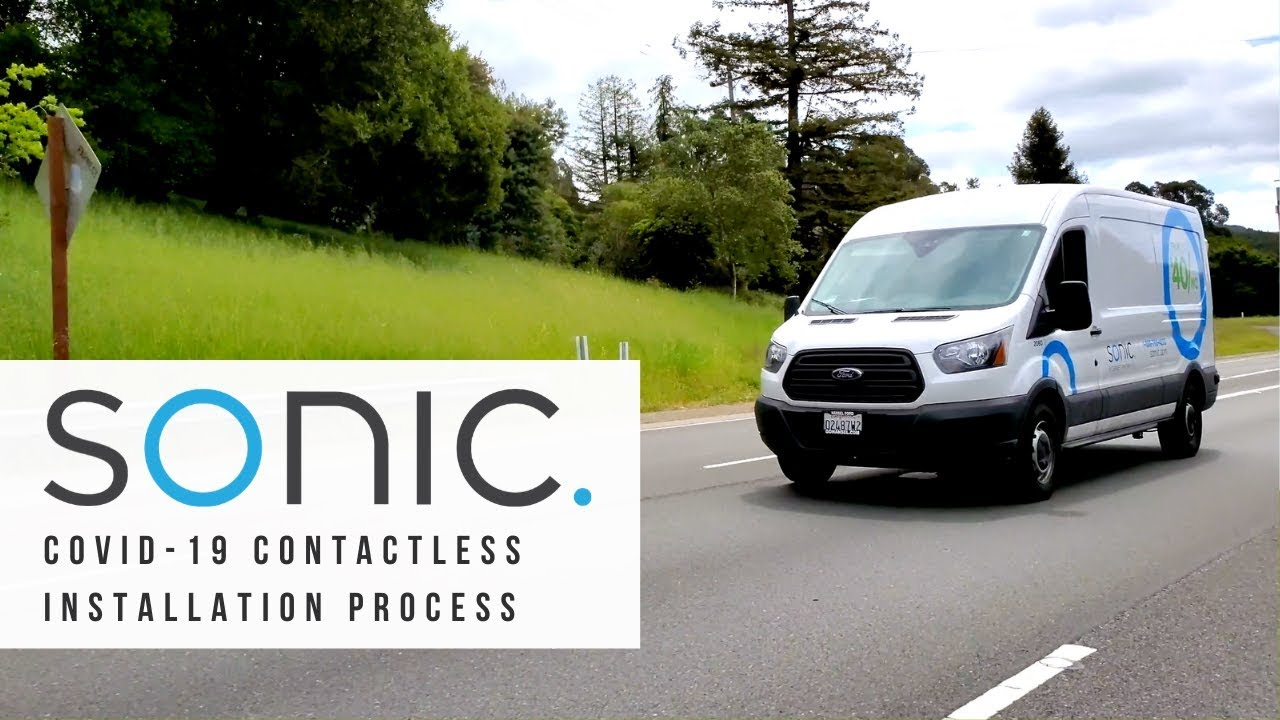 SONIC | COVID-19 Contactless Installation Process