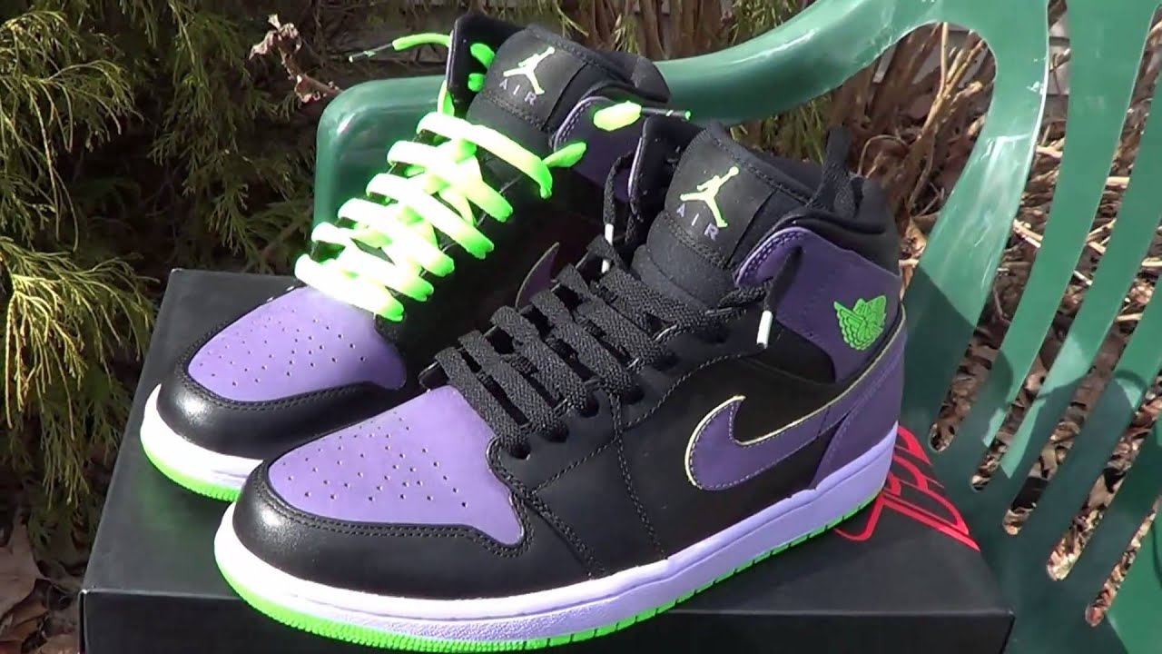 88afd05805cbde Air Jordan Retro 1 Joker Night Vision (HD) - YouTube