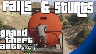 GTA 5 - Stunts and Fails Compilation / Montage (Funny Moments)