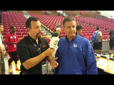 Kentucky Coach John Calipari On Basketball Coaching