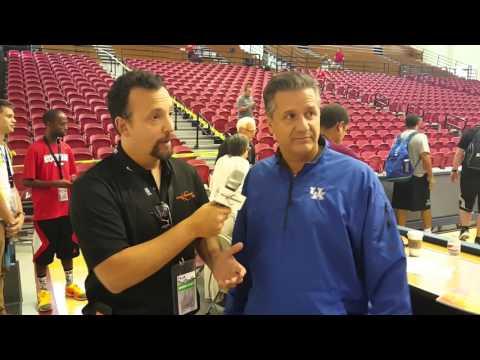 Kentucky Coach John Calipari On Basketball Coaching