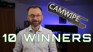 Winners of the 10 free CamWipes