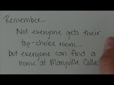 Maryville College Room Selection