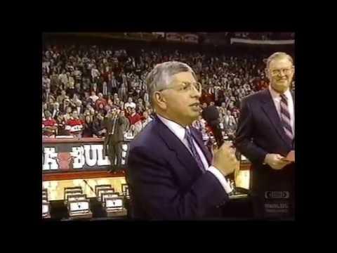 The Chicago Bulls Championship Ring Ceremony (1990-1991)  NBA