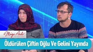 Öldürülen çiftin oğlu ve gelini canlı yayında - Müge Anlı ile Tatlı Sert 15 Nisan 2019