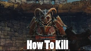 Middle Earth Shadow of Mordor - How To Kill Tugog The Guardian (Quick & Easy)