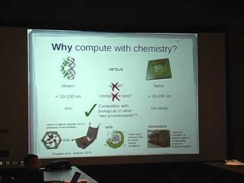Programming with chemical Kinetics by David Doty, University of California, Davis