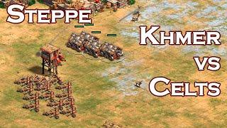 Steppe | Khmer vs Celts | vs PROject_Belgium