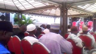Arrival of Jalingo LG PDP stakeholders. Part 2