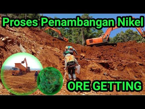 Proses Penambangan Nikel | Ore getting | Tambang Indonesia