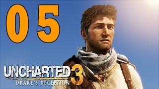 Let´s Play Uncharted 3 Gameplay Deutsch - Part 5 - Wunderschönes Frankreich
