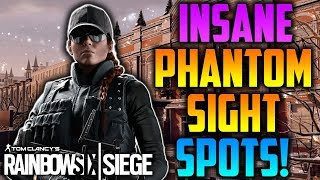 INSANE *NEW* OPERATION PHANTOM SIGHT HIDING SPOTS! *AFTER PATCH* - Rainbow Six Siege