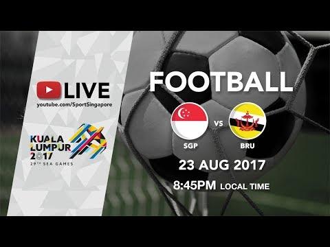 Football ⚽: Singapore 🇸🇬 vs Brunei 🇧🇳 | 29th SEA Games 2017