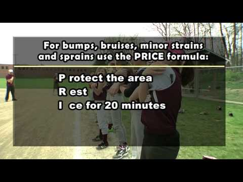 PRICE Formula for Injuries  Sports Safety Tip of the Week  Cardinal Glennon SportsCare