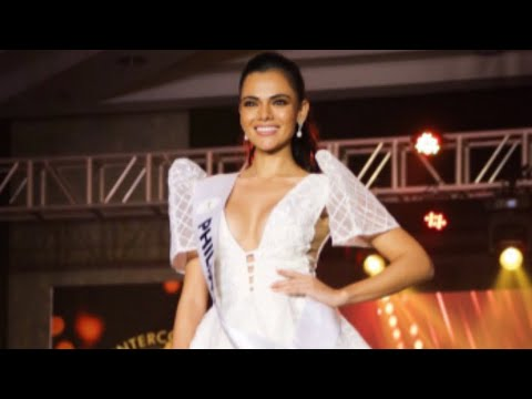 Miss Intercontinental Philippines Karen Gallman shines at the Media Presentation