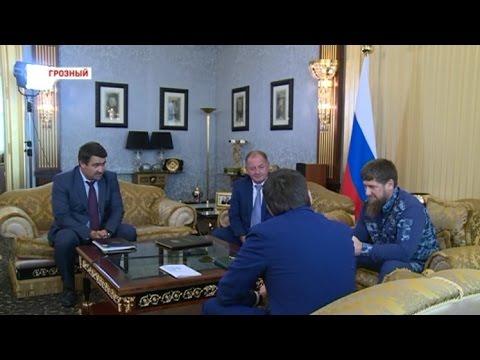 Рамзан Кадыров и Андрей Чибис обсудили вопросы переселения граждан из аварийных и ветхих домов