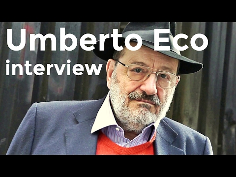 Umberto Eco interview on Charlie Rose (1995)