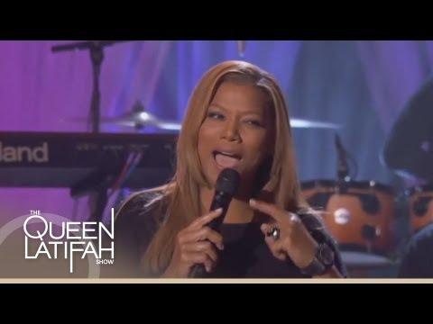 Queen Latifah Singing