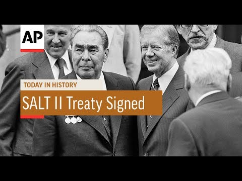 SALT II Treaty Signed - 1979 | Today In History | 18 June 17