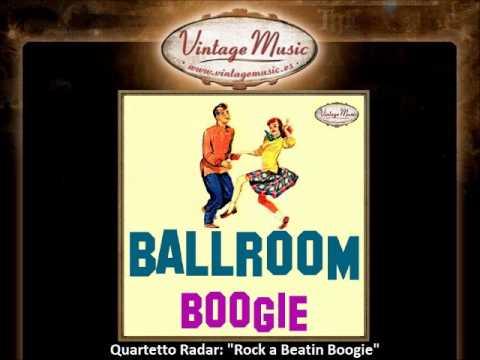 Quartetto Radar - Rock a Beatin Boogie (VintageMusic.es).