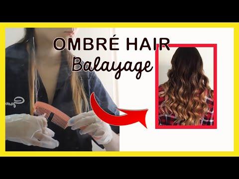 Mechas Californianas en cabellos oscuros ✿ Mechas Balayage