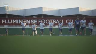 #SelecciónMayor Primer entrenamiento en Río de Janeiro. ¡Vamos Argentina!