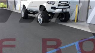 "bulletproof 12"" lift TACOMA"