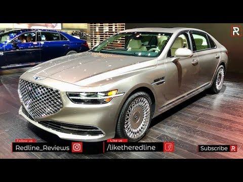 2020 Genesis G90 – Redline: First Look – 2019 LA Auto Show
