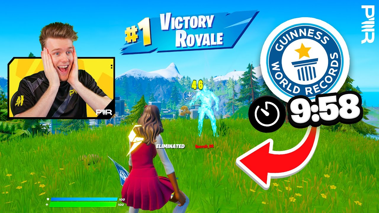 Download Fastest Game of Fortnite WINS! (World Record?)