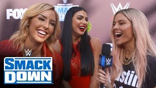 The Iiconics Excited For The Rock On Smackdown: Smackdown Exclusive, Oct. 4, 201