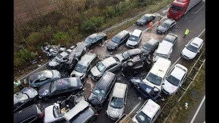 Top Car Accidents caught in CCTV - Must Watch !!!