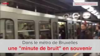 Dans le métro de Bruxelles, une