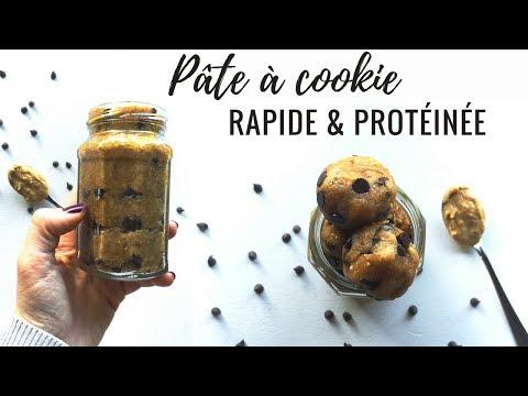 recette-de-cookie-dough-(pâte-à-cookie)-▌vegan-&-protéinée