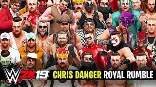 WWE 2K19 - CHRIS DANGER 30-MAN ROYAL RUMBLE!!