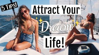 5 Law of Attraction HACKS That will change your life!