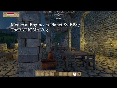 """Medieval Engineers Planet S2 EP47 """"Verandah"""""""