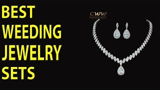 Exclusive High Quality Cubic Zirconia Wedding Necklace And Earrings