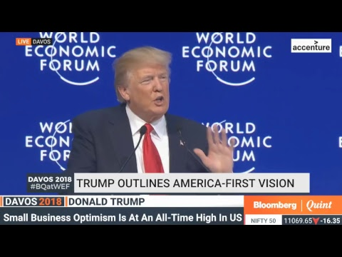 WEF 2018: U.S. President Donald Trump's Speech