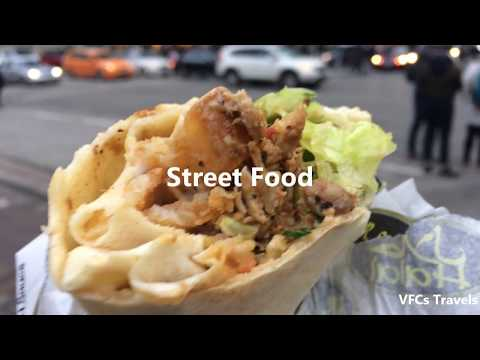 Best Street Food of Vancouver, Canada - Street Food, Street Music and Vibrant City Streets!!
