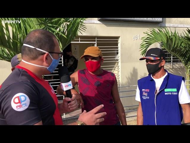 POLÍCIA MILITAR PRENDE LADRÃO DE MOTO EM PEDRAS DE FOGO