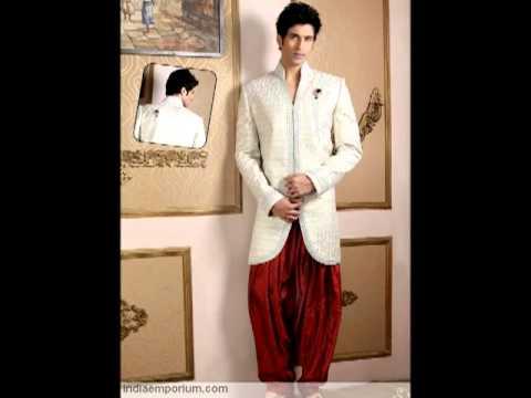 Indo Western Style - Mens Sherwani