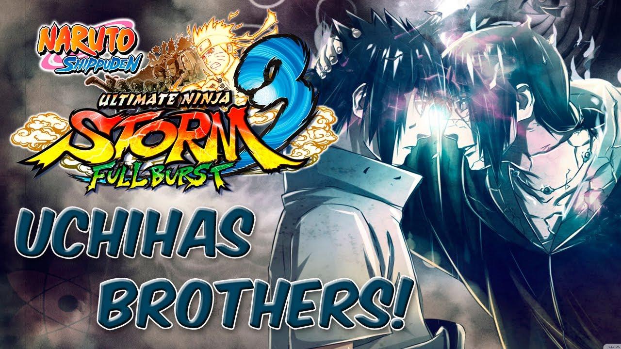Naruto Shippuden Ultimate Ninja Storm 3 Full Burst INTRO ...