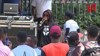 Khaligraph jones meets his match  |  a 9 year old rapper