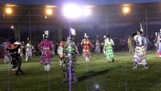 Samson Cree Nation Powwow 2012- jingle dress dancers special, 1st song