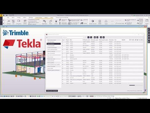 Astuce Tekla Structures : Liste de dessins
