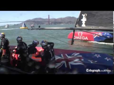 America's Cup 2013: Ben Ainslie sets up dramatic final race