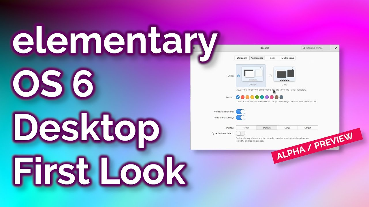 Early Look At Elementary Os 6 New Desktop Features Road To Odin Youtube