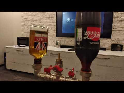 Диспенсер смеситель виски-кола рабочая версия