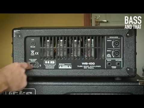 Hand Box WB-100 bass head - features & walkthrough