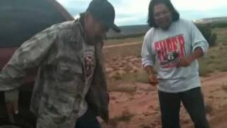 Drunk Navajo dancing